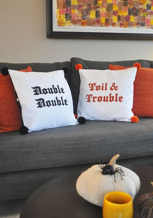 double trouble pillows