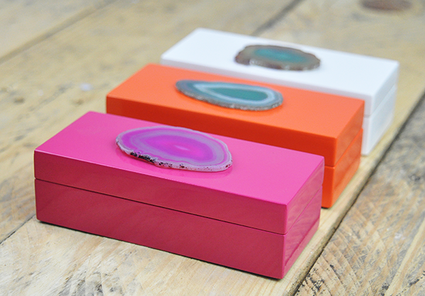 Mini Agate Boxes