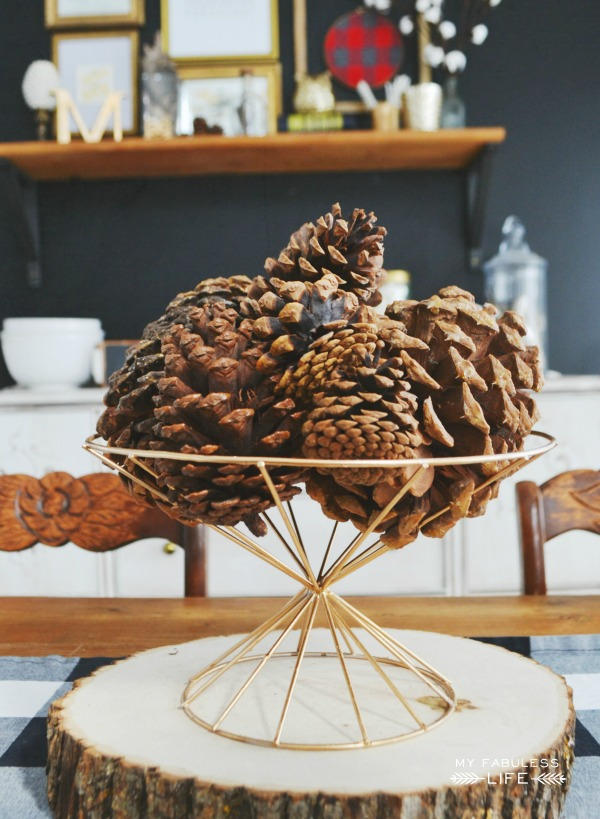 minimal fall decor