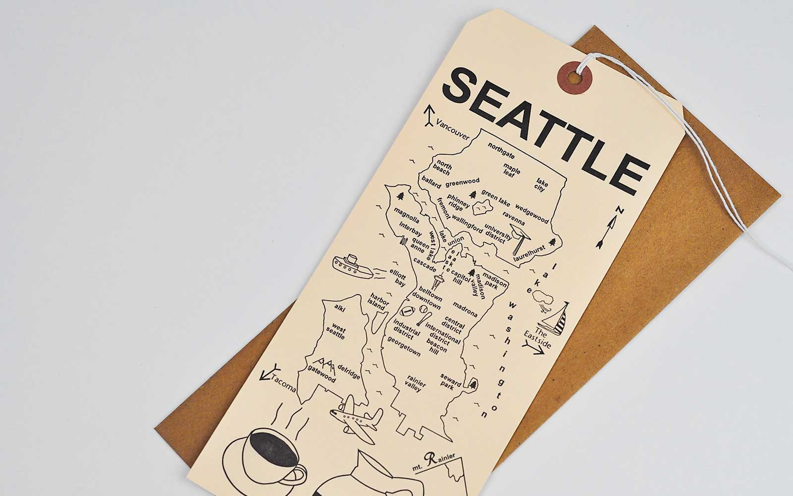 Seattle Maptote